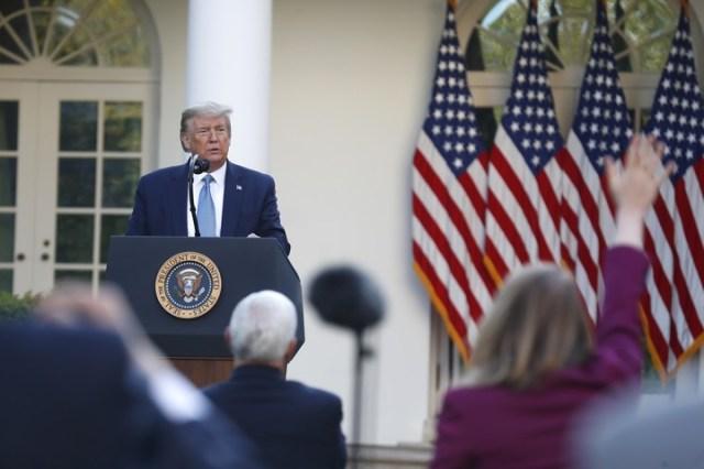 Donald Trump, presidente de Estados Unidos. /POLARIS/dpa/