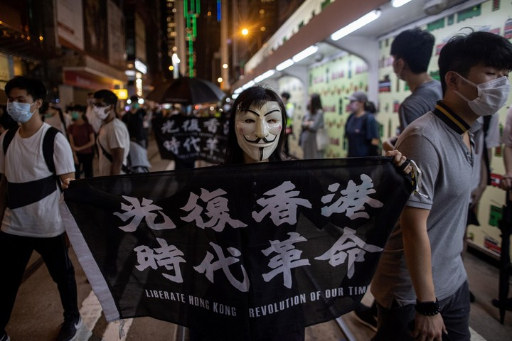 Protests in Hong Kong due to the influence of China have intensified.  Photo: EFE