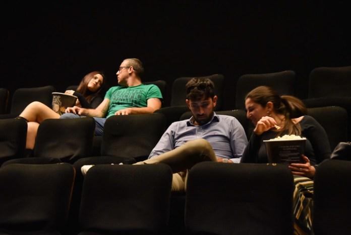 Volvió el cine en Roma. Foto: Víctor Sokolowicz