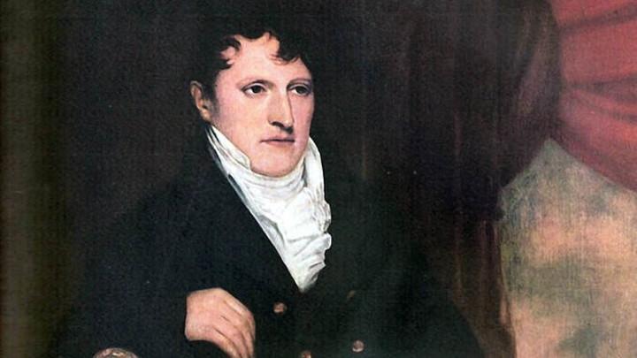 Retrato del General Manuel Belgrano. Fuente: Archivo General de la Nación.