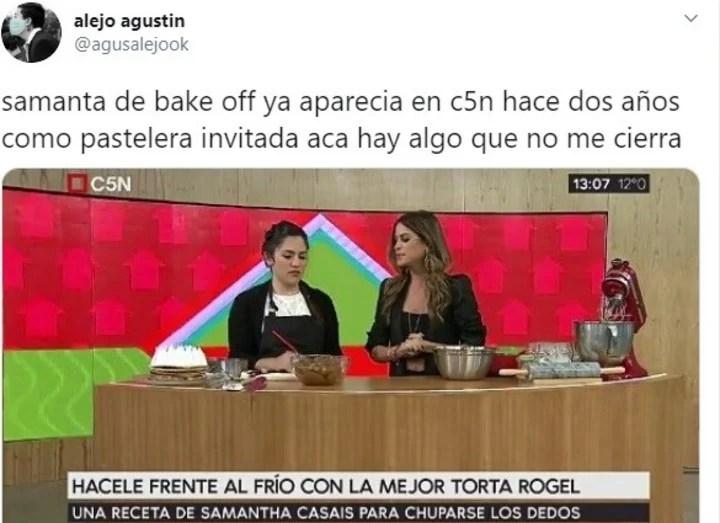 Acusan De Fraude A Samanta Casais Una Participante De Bake Off