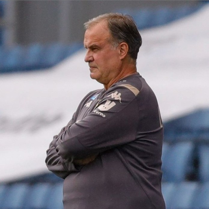 Marcelo Bielsa is in his second season in charge of Leeds United.