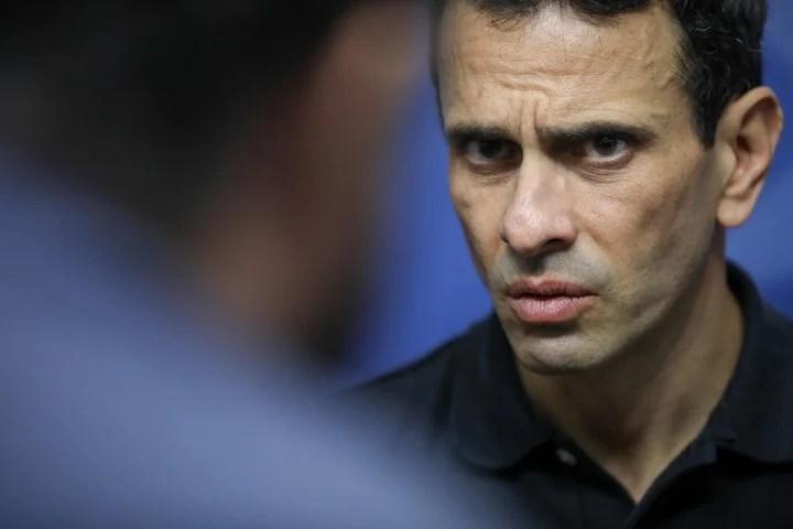 The opposition leader Henrique Capriles.  Photo EFE