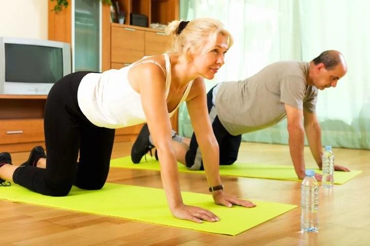 Plus d'exercice, mieux c'est, recommandent-ils de l'OMS.  Photo Shutterstock.