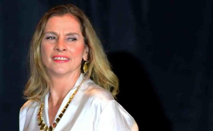 La escritora y periodista Beatriz Gutiérrez Müller, de 51 años, nació en 1969 en la ciudad de México. Foto: AFP