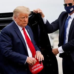 En fotos: los últimos días de Donald Trump en la Casa Blanca