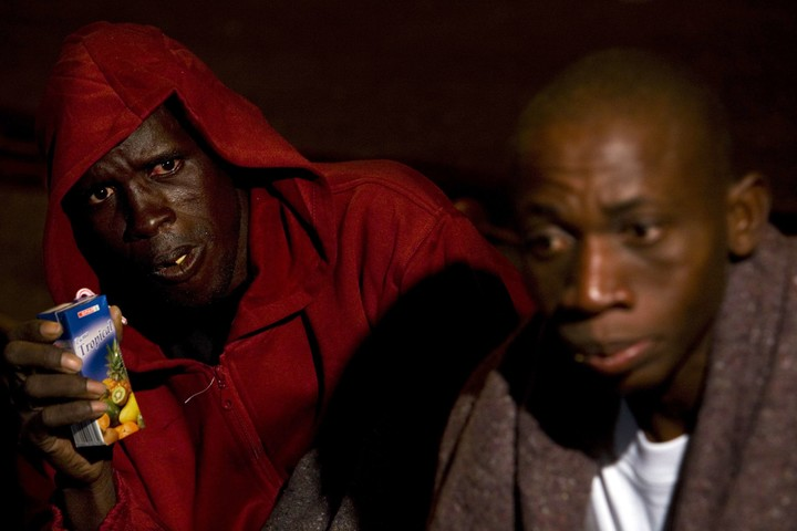 Immigrants in the Canary Islands.  Photo: Reuters