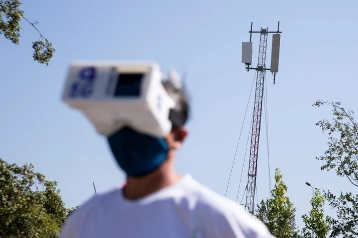 The possibilities that open up with 5G networks are endless.  Photo EFE