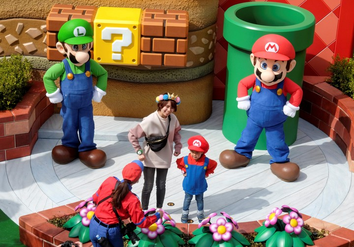 Since March, Nintendo has its theme park.  In two years he will also have his museum.  Reuters photo