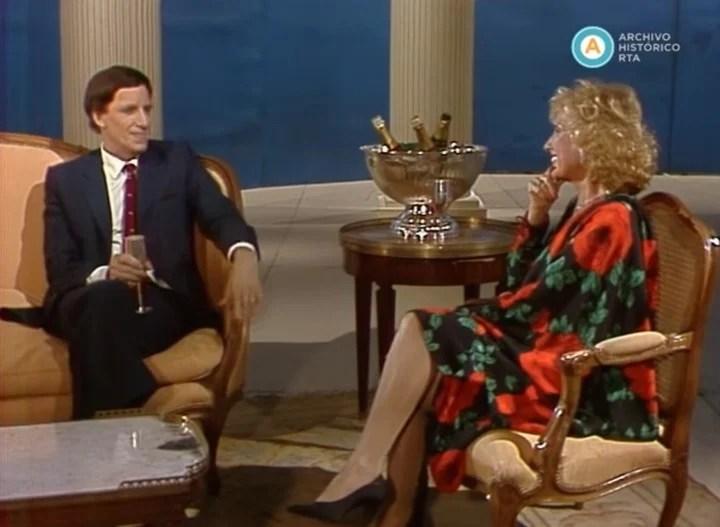 Un clásico de cada año: Horangel invitado a la mesa de Mirtha Legrand. Captura TV