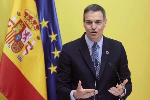 Pedro Sánchez anuncia las nuevas medidas sobre viajes. Foto: dpa