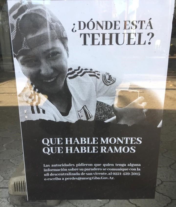Tehuel de la Torre has been missing since March 11.