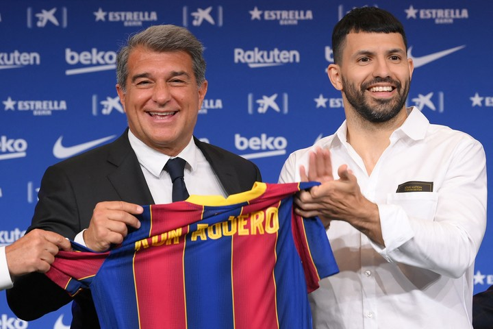 The arrival of Agüero was an important step of the leadership to try to achieve the continuity of Leo.