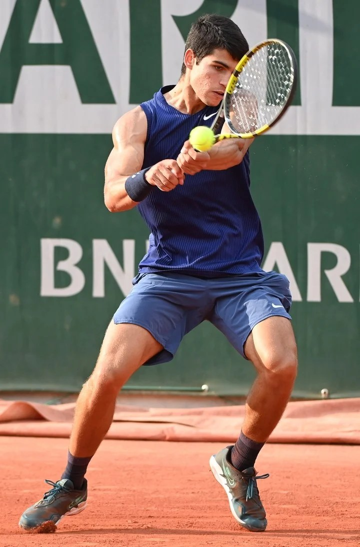 According to Ferrero, his coach, Alcaraz's game is more like Federer and Djokovic's than Nadal's.  Photo EFE / EPA / CAROLINE BLUMBERG