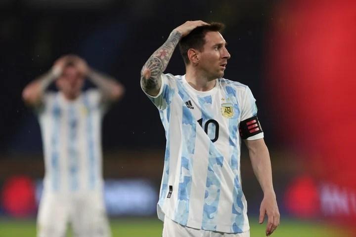Messi es el líder de la Selección. (AP)