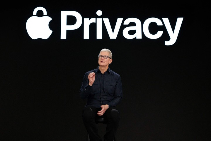Tim Cook, CEO of Apple.  (Photo: AFP)