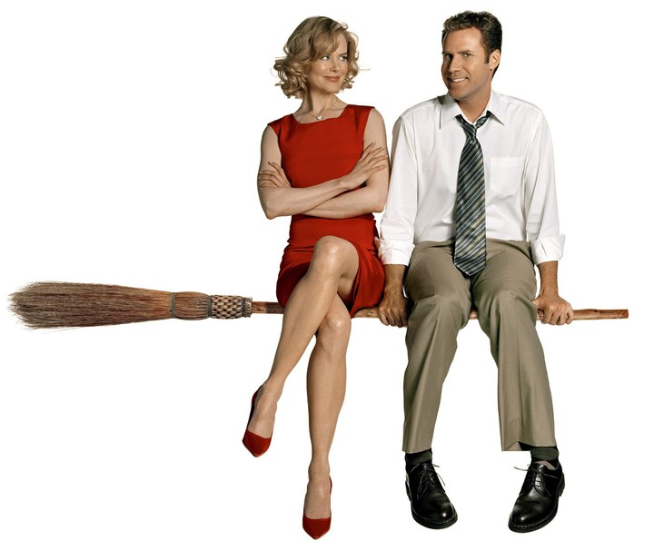 """Antecedent.  Nicole and Will Ferrell in the failed remake of the series """"Bewitched"""" (2005)."""