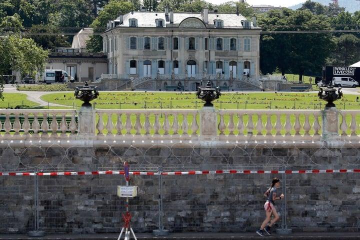 Biden and Putin will meet at Villa La Grange.  Photo: Bloomberg