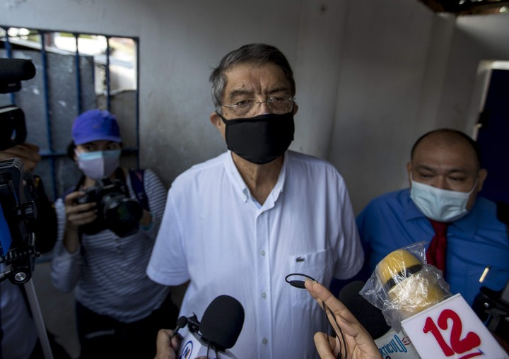 """The writer and former vice president of Nicaragua, Sergio Ramírez Mercado, called the """"international solidarity"""" before the wave of arrests.  Photo: EFE"""