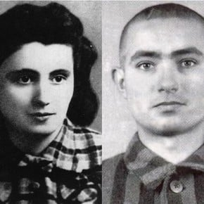 The beautiful and tragic love story in the Auschwitz concentration camp