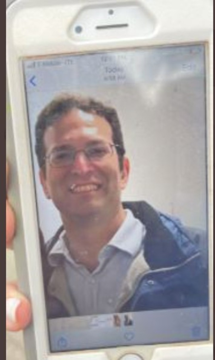 Brad Cohen, missing with his brother.
