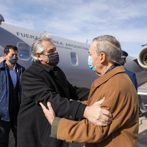 Alberto Fernández visited Córdoba for the first time since he took office and again criticized macrismo