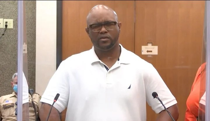 Terrence Floyd, George's brother, this Friday, during the hearing in which he spoke directly to the convicted police officer.