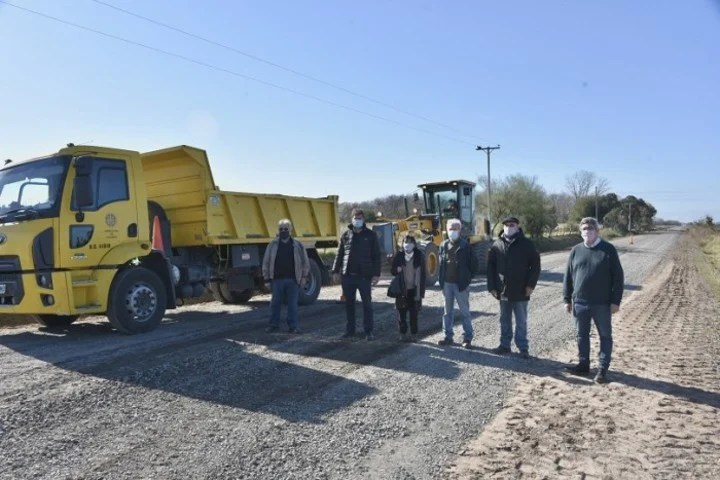 In San Antonio de Areco they enabled a 5-kilometer section of a rural road between Provincial Routes 51 and 31.