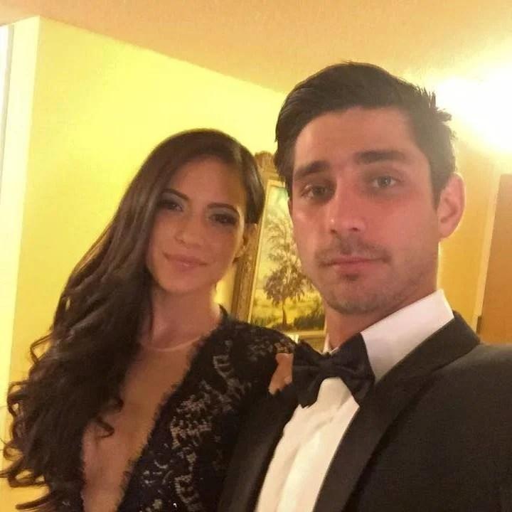 "Attorney Nicole ""Nicky"" Langesfeld with her husband Luis Sadovnic.  Photo: Facebook."