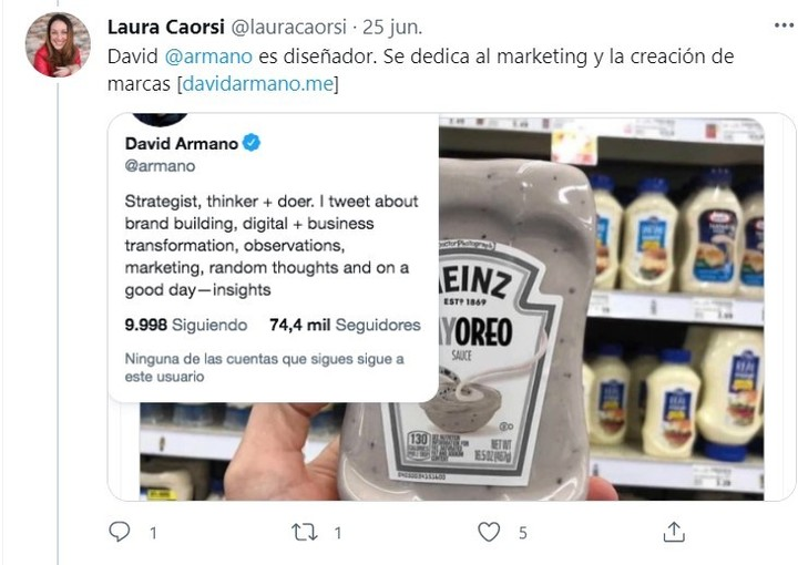 """""""The #MayOreo sauce is fake, but it's plausible""""."""
