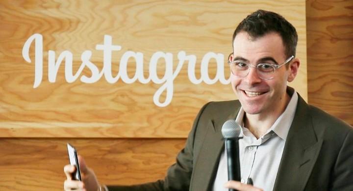 Adam Mosseri, director of Instagram.  Photo: AFP