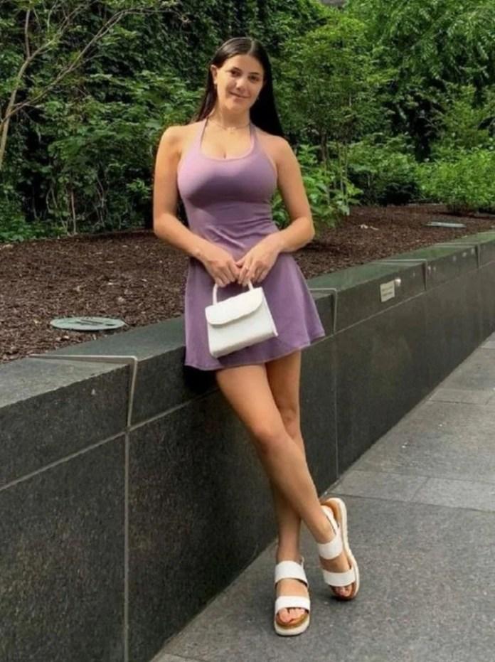 La modelo y tiktoker Paige DeAngelo tiene más de 300.000 seguidores.