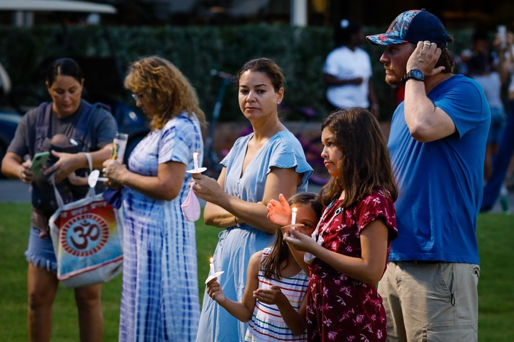 Independence Day in Miami had no celebrations.  Photo Eva Marie Uzcategui / Getty Images / AFP