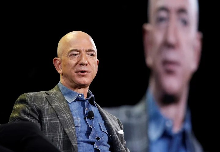 Jeff Bezos, CEO of Amazon.  AP Photo