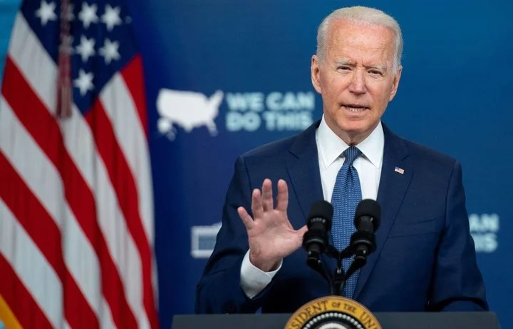 The president of the United States, Joe Biden, wants to have the majority of the country's population vaccinated against the coronavirus.  Photo: AFP