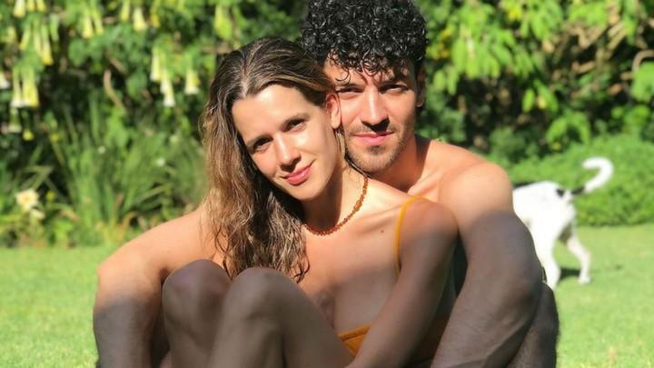 Violeta Urtizberea and Juan Ingaramo.  Photo: Instagram.