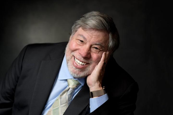 Apple co-founder Steve Wozniak.  Photo EFE