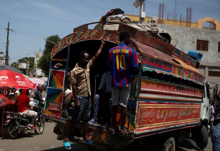 Port-au-Prince, ravaged by gangs.  AP Photo