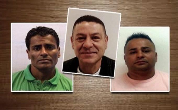 """Ezequiel, """"Rengo"""" y Mauro Pacheco, el clan narco."""