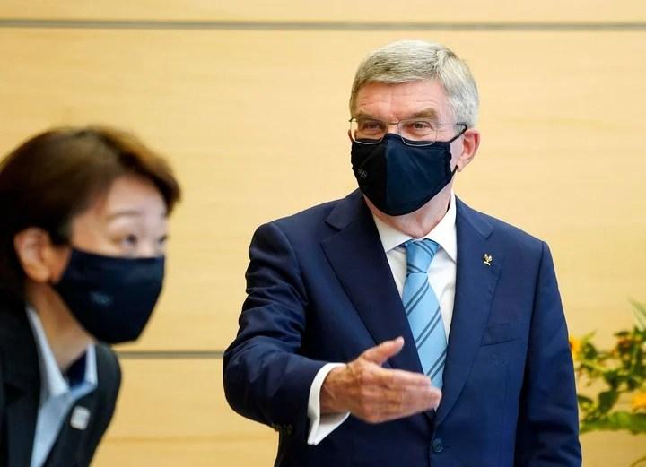 Thomas Bach, president of the International Olympic Committee.  Photo Kimimasa Mayama / AFP