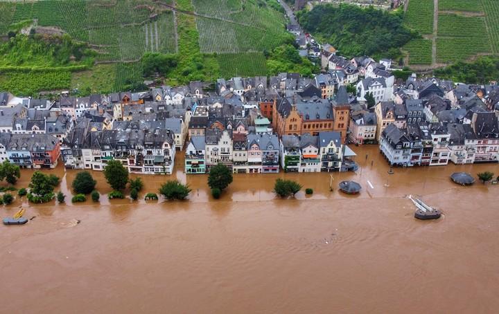 Rhineland-Palatinate, under the waters.  Photo: dpa