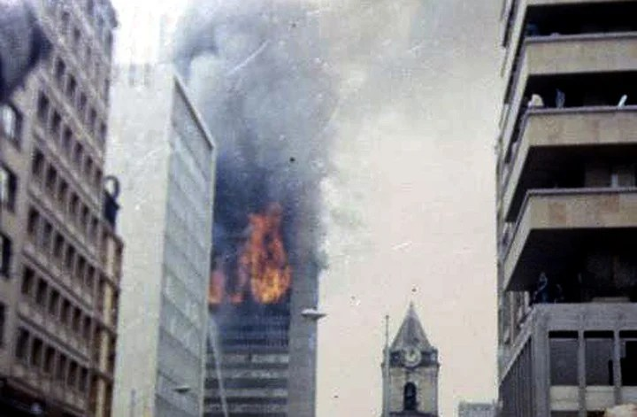 The official version insists that it all started on the 14th floor. Photo: archive
