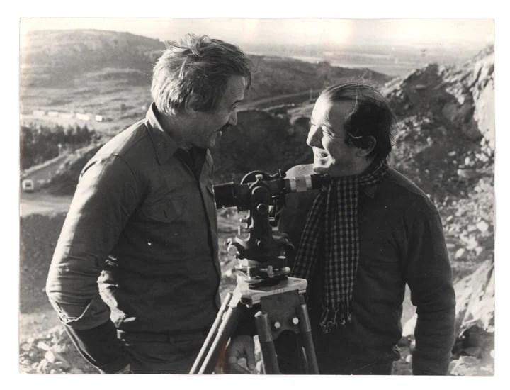 "Federico Luppi and Ulises Dumont in ""Revenge time""."