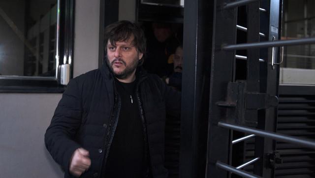 Leandro Santoro, candidato a diputado por el Frente de Todos, apunta al cambio de distrito de su rival. Foto Rolando Andrade Stracuzzi.
