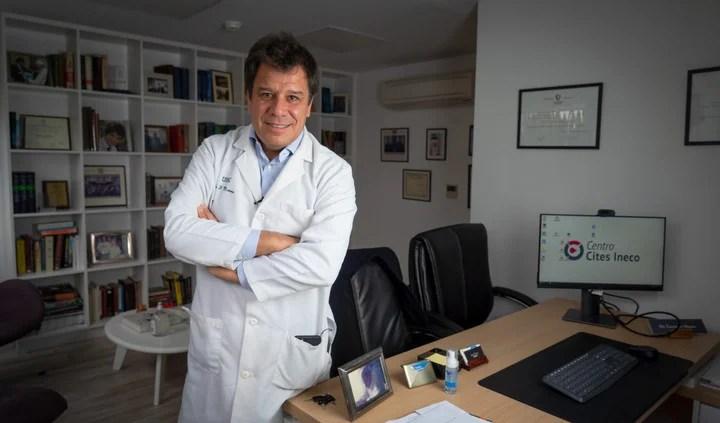 The neuroscientist Facundo Manes, in the crosshairs of the electoral chicanes of Victoria Tolosa Paz.  Photo Rafael Mario Quinteros