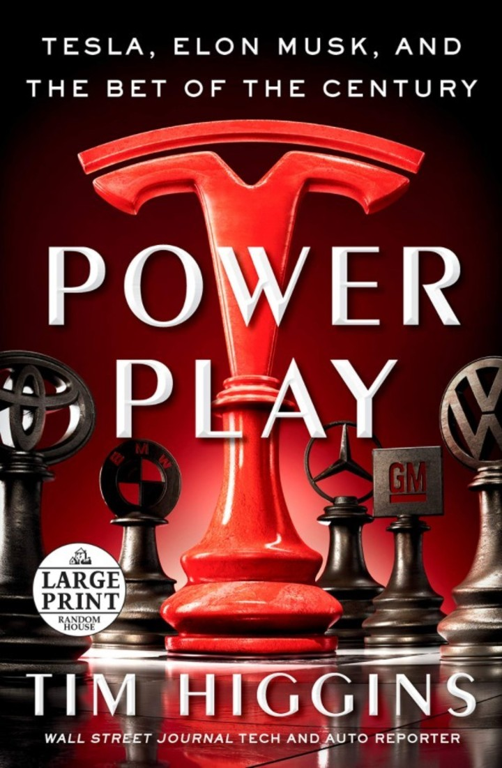 """Power Play: Tesla, Elon Musk, and the Bet of the Century"", the new book on Tesla.  Photo Random House"