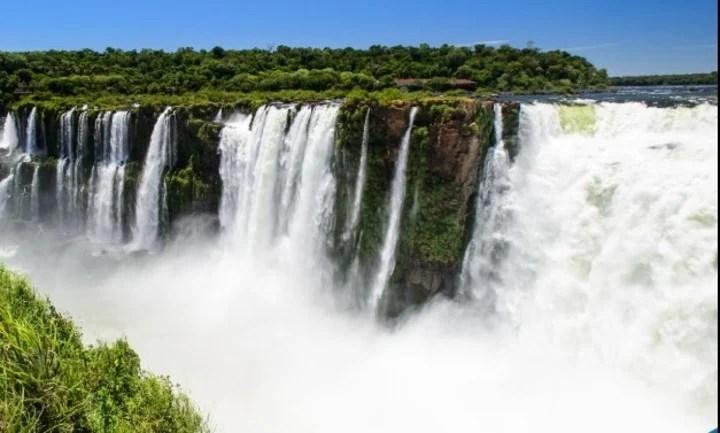 Iguazu falls.  Photo Facebook Ministry of Tourism of Misiones.
