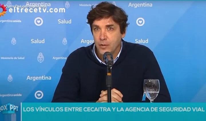 Pablo Martínez Carignano, a radio columnist, billed the camera for photomulting companies.  Road Safety Officer.  Capture PPT