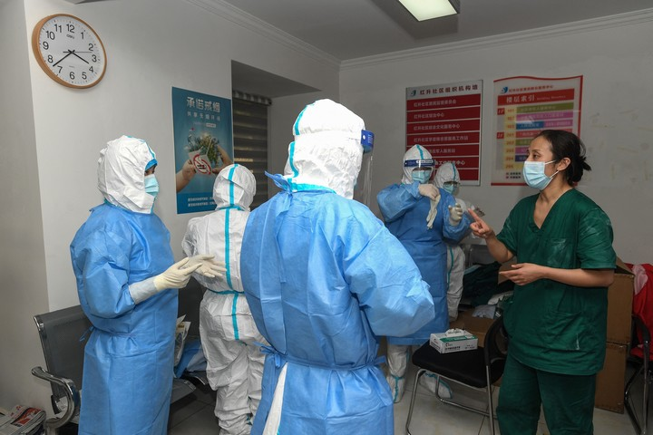 After more than a year, Wuhan again registered positive cases of coronavirus.  Photo: AFP