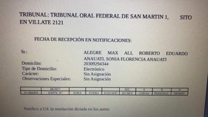 """""""Alicho"""", narco preso con peso en San Martín, y su conexión con los Anauati."""